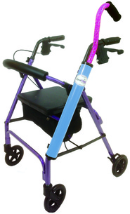 CaneTUBE Cane Holder for Rollators